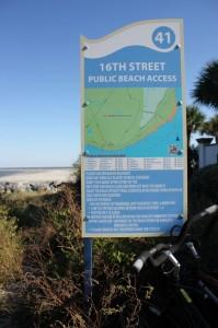 St. Simon Beach Access