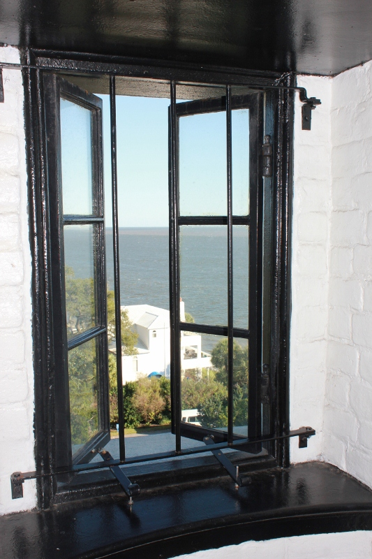 St. Simons Lighthouse Window View