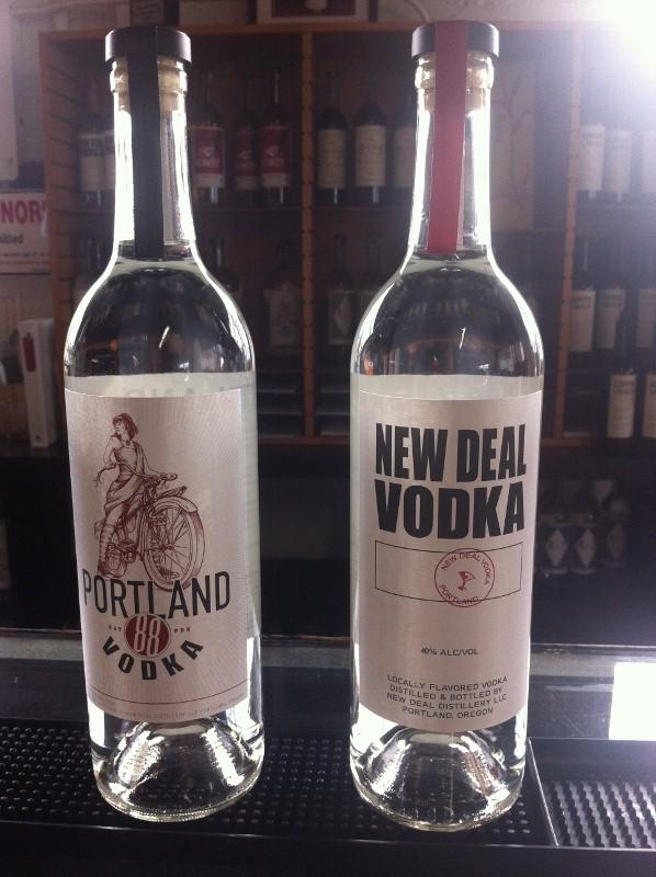 New Deal Distillery Vodka