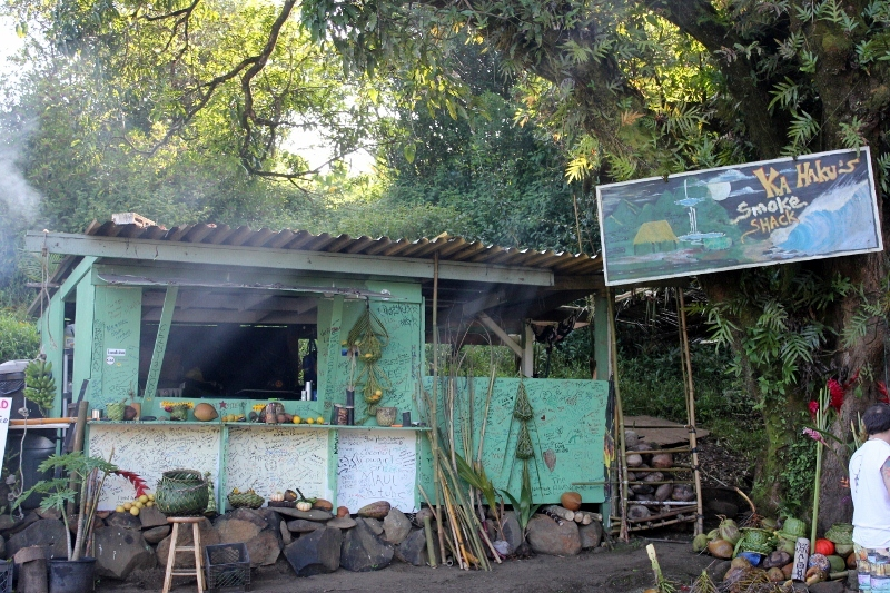 Ka Haku Smoke Shack on the Road to Hana in Maui
