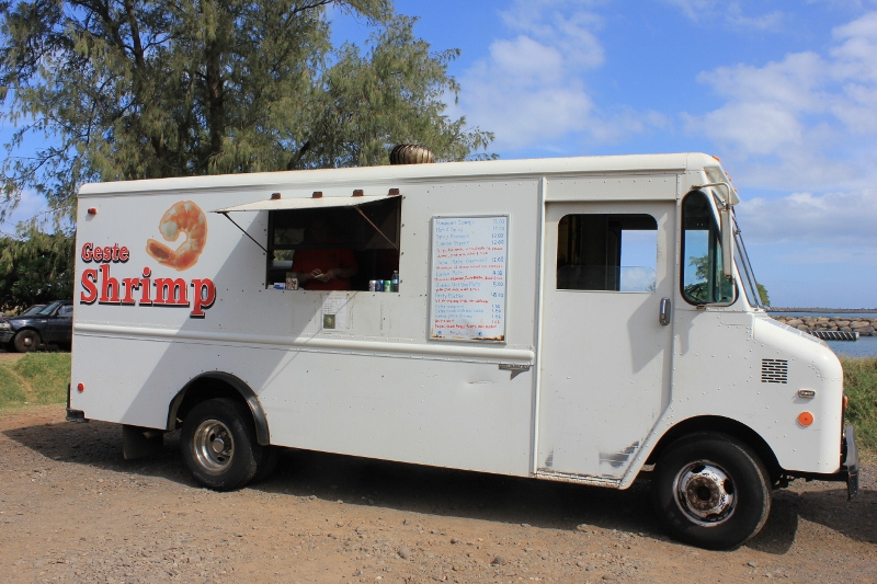geste shrimp hawaiian food truck