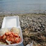 Eat Shrimp at a Hawaiian Food Truck in Maui