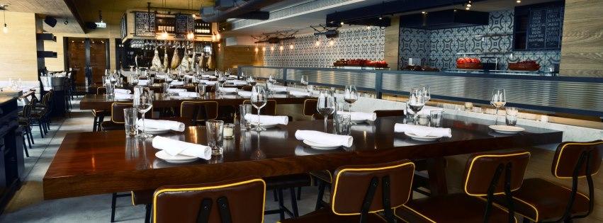 Boqueria Restaurant in Hong Kong