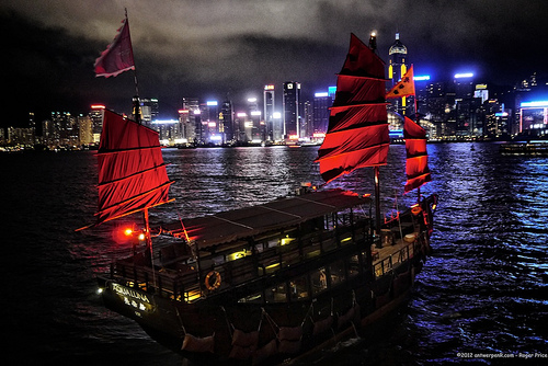Things to do in Hong Kong: Aqua Luna Junk Boat Ride
