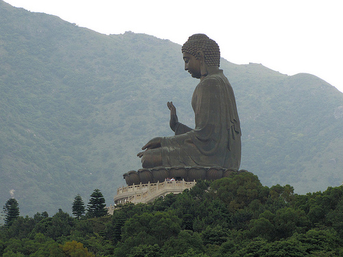 Tian Tan Big Buddha in Hong Kong