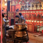 Burn Incense at Po Lin Monastery in Hong Kong