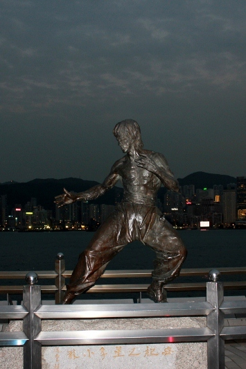 Statue at Avenue of Stars