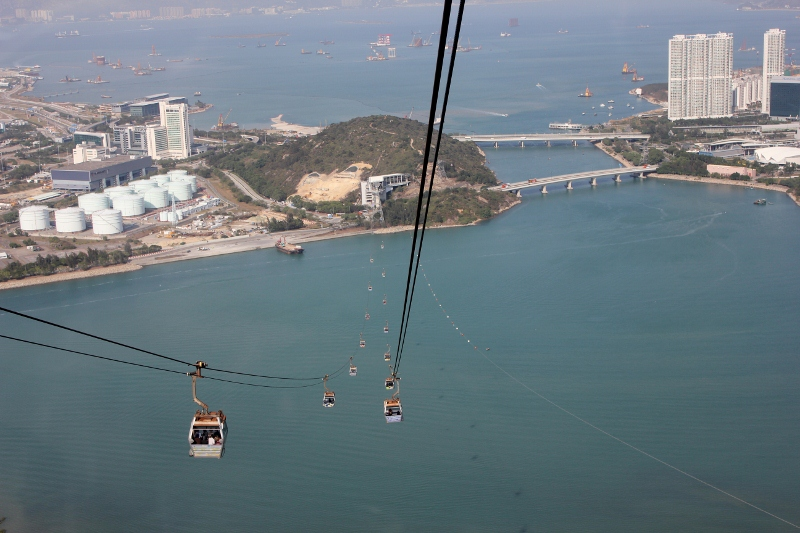 Ngong Ping Hong Kong Cable Car