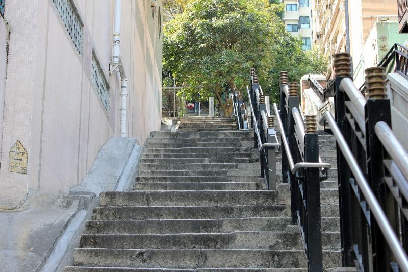 hong Kong Stairs