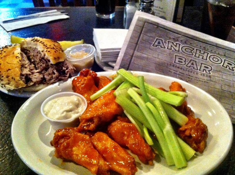 Buffalo Wings at Anchor Bar