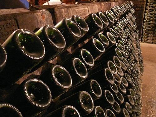Cava Bottles Spain