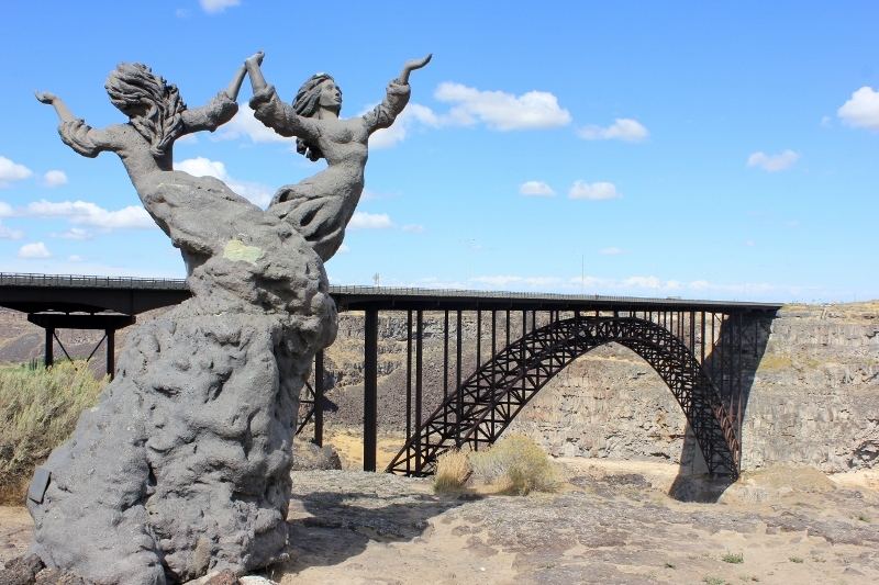 Perrine Bridge in Idaho