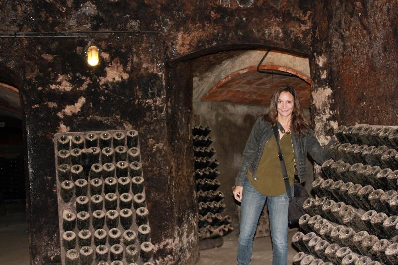 Annette White in Bohigas Cava Cave