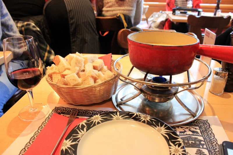 Switzerland fondue in Zurich