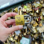 Put a Love Lock on Pont des Arts Bridge in Paris