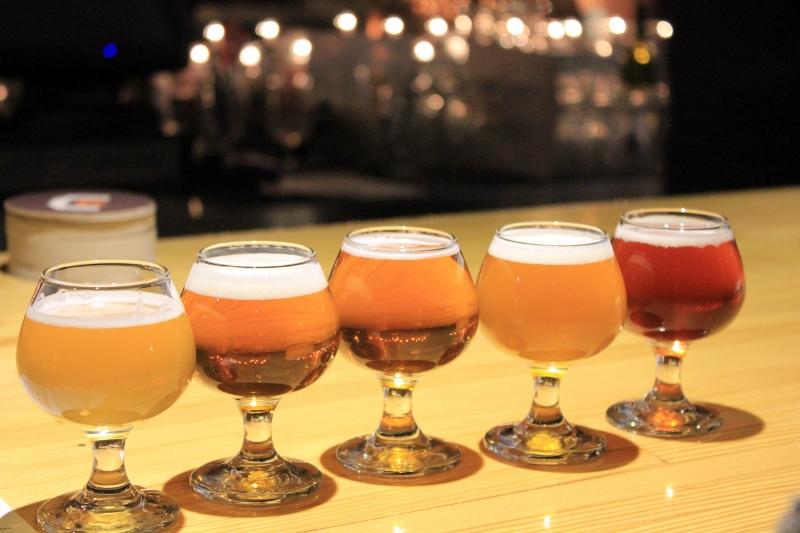 Woodfour in Sebastopol Beer Flight