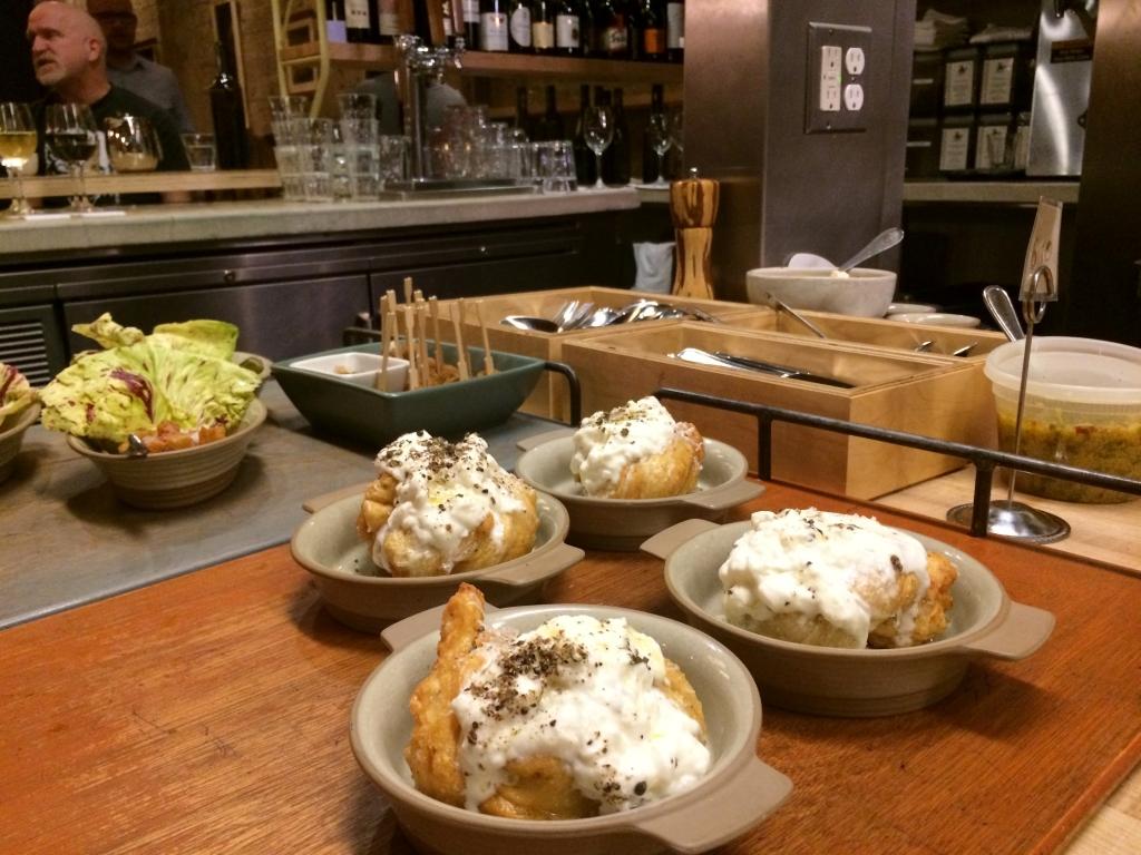 Garlic Bread at State Bird Provisions in California