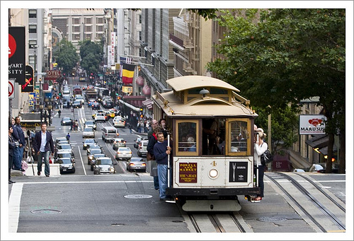 Ride a San Francisco Cabe Car