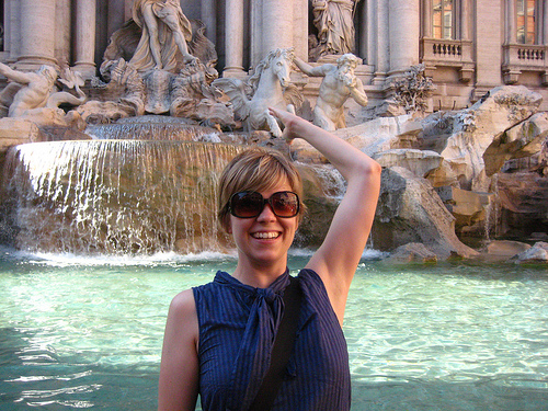 Trevi Fountain Italy