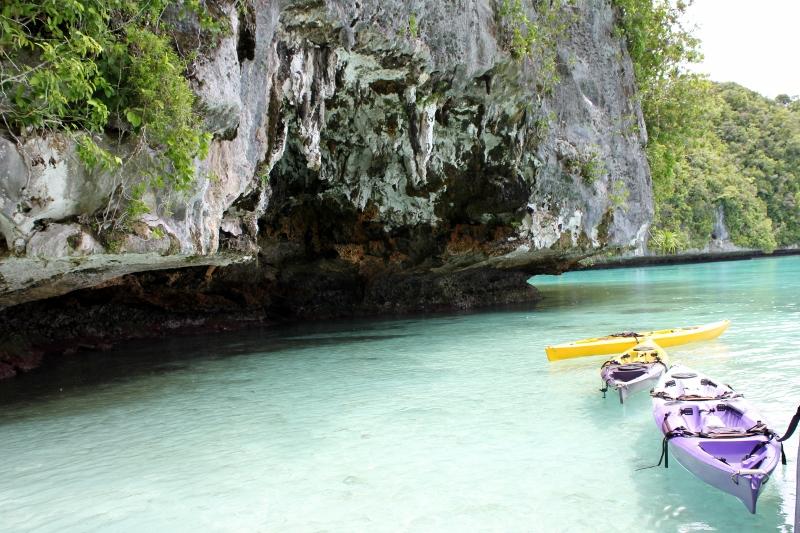 Kayak Palau Island