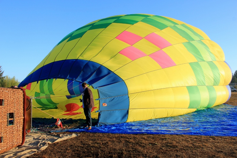 Sonoma County Hot Air Balloon