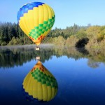 Take a Hot Air Balloon Ride Over the Vineyards of Northern California