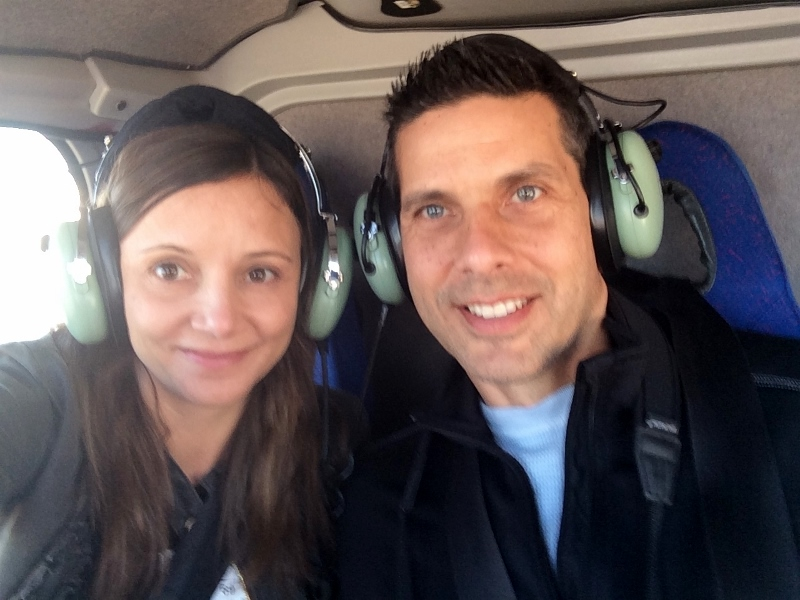 Helicopter Ride | Annette White