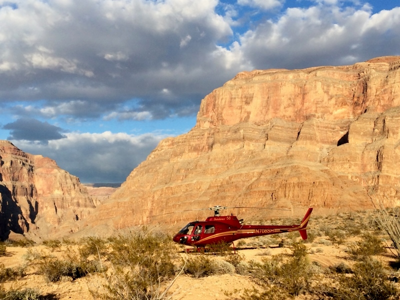 Helicopter Ride to the Grand Canyon