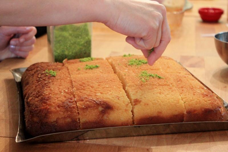 Revani Cake Turkish Cooking