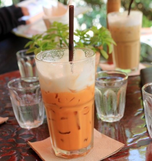 Thai Iced Tea in Chiang Mai, Thailand