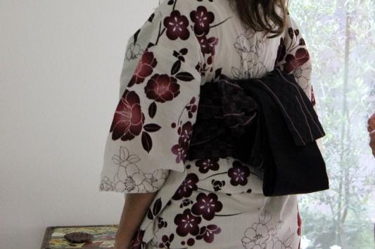 Kimono Fitting in Tokyo, Japan