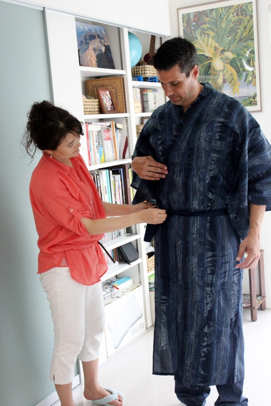 Kimono Fitting in Japan