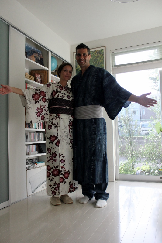 Kimono Fitting in Tokyo