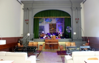 Tasso Hostel Theater Room, Florence, Italy