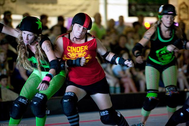 Roller Derby at the Rose City Roller Portland