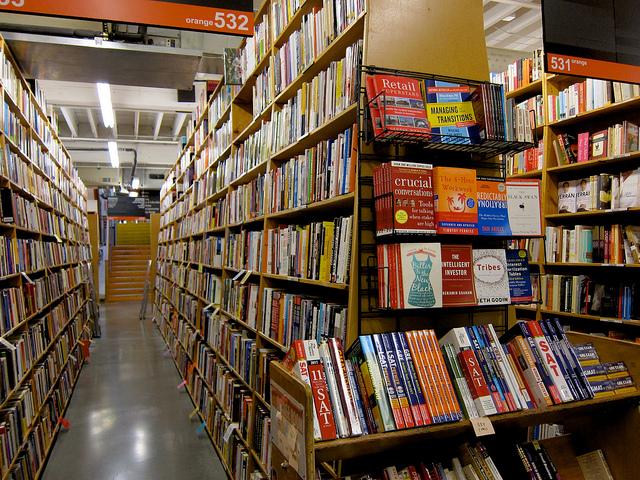 Get Lost in Powells Books - Portland Bucket List