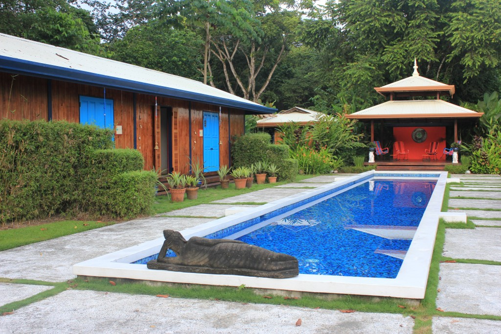 Blue Osa Pool in Osa Peninsula, Costa Rica