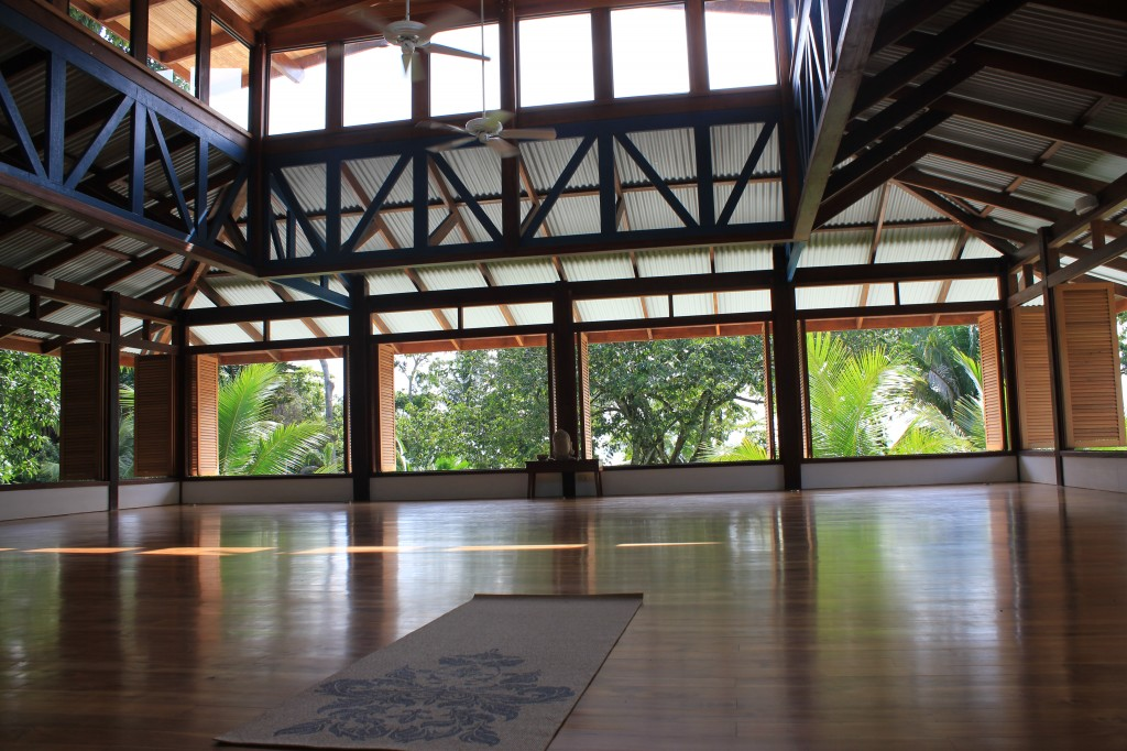 Blue Osa Yoga Room in Costa Rica