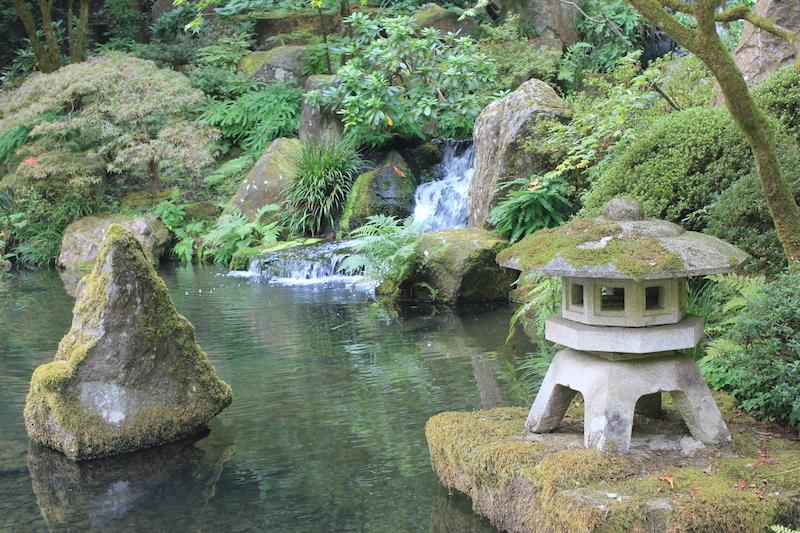 Japanese Garden Portland in Portland, Oregon