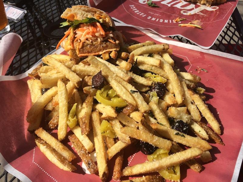 Eat Dirty Fries at Lardo - Portland Bucket List