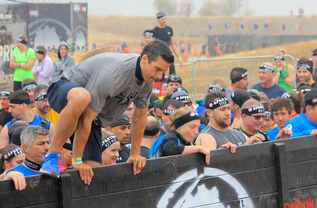 Peter White at the Spartan Race