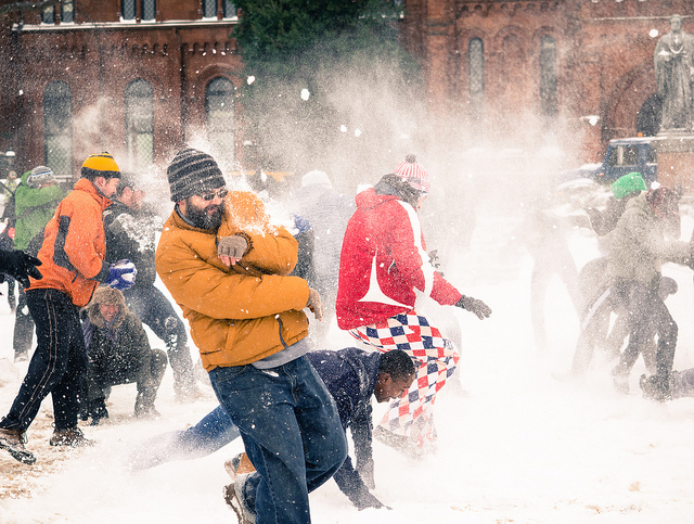 Have a Snowball Fight | Winter Bucket List