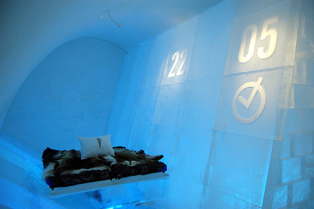 Things to do this Winter: Sleep in an Ice Hotel