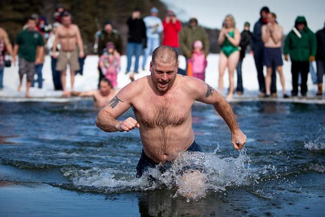 Take the Polar Plunge | Winter Bucket List