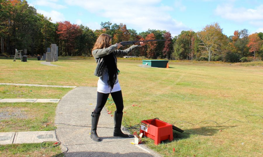 Annette Skeet Shooting in Pocono Mountains, Pennstlvania