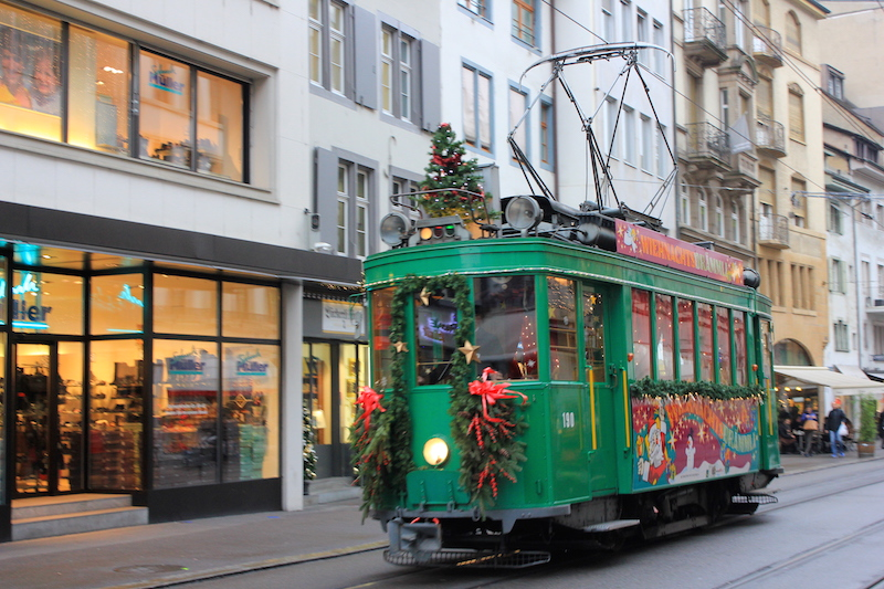 Cable Car in Basel Switzerland