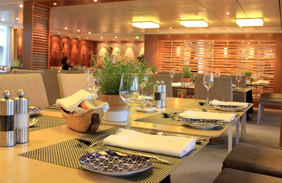 Dining Room of the Viking Rhine River Cruise