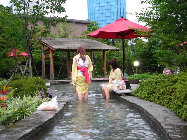 ooedo onsen monogatari hot springs in Tokyo