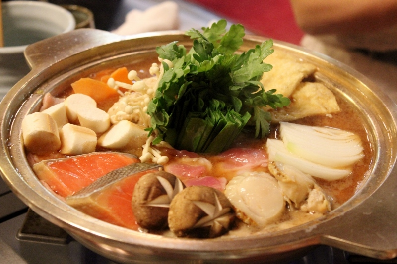 14. Eat Chankonabe (Sumo Wrestlers Stew)