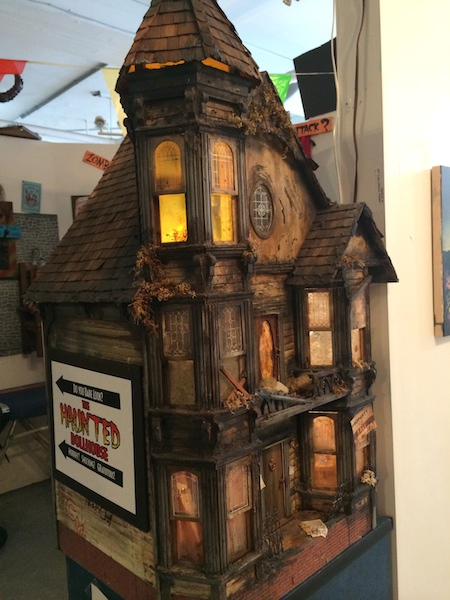 The Haunted Dollhouse at the freaky But True Peculiarium in Portland, Oregon